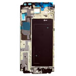 Genuine Samsung SM-G850F Galaxy Alpha  LCD Bracket / Display Frame Silver-Samsung part no: GH98-33602A