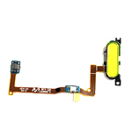 Genuine Samsung SM-G850F Galaxy Alpha Home Button Flex-Cable Complete Gold-Samsung part no: GH96-07489D