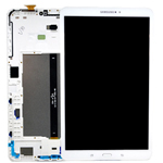 Genuine Samsung SM-T580/T585 Galaxy Tab A (2016) Complete Lcd with Digitizer in White 10.1inch - Samsung part no: GH97-19022B