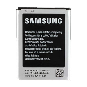 Genuine Samsung OEM 1300mAh Battery for Samsung Galaxy Fame & Galaxy Young Duos.EB-L1P3DVU