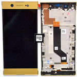 Genuine Sony XA1 Ultra G3212, G3121) lcd and touchpad in Gold - P/N:78PB3400030