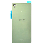 Genuine Sony Xperia Z3 (D6603) Battery Cover + NFC Antenna Silver/Green - Part number: 1288-7880