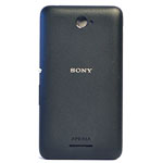 Genuine Sony Xperia E4 (E2105) Battery Cover in Black- Sony part no: A/405-58800-0001