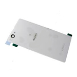 Sony D5503 Xperia Z1 Compact - Battery Cover (White)-Part no: 1276-8465
