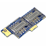 Genuine Sony C1605 Xperia E Dual  Sim Card Reader D-SIM-Sony part no: A/8CS-58570-0001