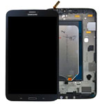 Genuine Samsung SM-T311,T315 Galaxy Tab 3 8.0 3G Complete Lcd with Digitizer and Frame including Home Button in Black- Samsung part no: GH97-14915D