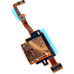 Genuine Samsung SM-T805 Galaxy Tab S 10.5 LTE Sim Card Reader Flex - Part no: GH59-14004A