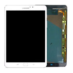 Genuine Samsung SM-T813 Galaxy Tab 4 8.0 LTE Complete Lcd with Digitizer in White- Samsung part no: GH97-18911B