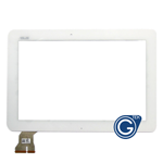 Asus Transformer Pad TF103C, TF1030C, K010 Touchscreen Digitizer in White