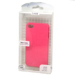 Ultra Slider Crystal Series Satin Silver Case in Pink for iPhone 4/4S