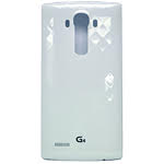 Genuine LG G4 H815 Battery Cover in Ceramic White- LG part no: ACQ87865353
