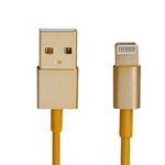 iPhone 5S Premium Gold Usb/Charge Cable