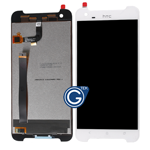 HTC One X9 Complete LCD and Digitizer Assembly in White