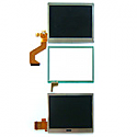 for Nintendo DS Lite Complete lcd module consist of 3pcs Top, Lower and Touchpanel