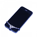 iPhone Pants - Zebra Print Underwear (Womens) in Retail Packaging