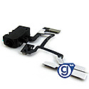 iPhone 4 Headphone Jack, Volume and Vibrate Button Flex Cable black- Replacement part (compatible)