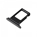 Iphone XS Max Dual SIM Card Tray With Seal - black