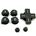 for Nintendo DS Lite keypad set black