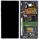 Genuine Samsung Note 10+ (N975F) Complete lcd and touchpad with frame in Black - Part no: GH82-20838A