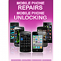 General mobile Phone Unlocking and Repair A3 Poster Purple