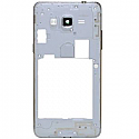 Genuine Samsung SM-J500F Galaxy J5 - Middle Cover With Camera Lens In White/Gold - Part no: GH98-37586A