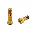 Iphone XS Bottom Screw Set - Gold - packs of 10 - OEM