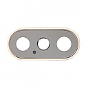 Iphone XS Rear Camera Lens With Bezel - Gold