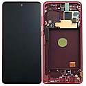 Genuine Samsung Galaxy Note 10 Lite (N770F) lcd Screen in Red - Part no: GH82-22055C