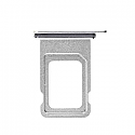 Iphone XS Max Dual SIM Card Tray With Seal -Silver