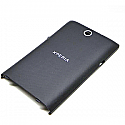 Sony C1505 Xperia E  Battery Cover (Black)-Sony part no: A/405-58570-0010