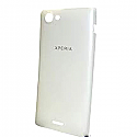 Sony ST26i Xperia J Battery Cover (White)-Sony part no:1265-3121