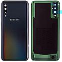 Genuine Samsung SM-A505 Galaxy A50 Back / Battery Cover - Black Part no : GH82-19229A