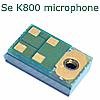sony ericsson k800 mic