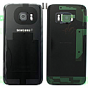 Genuine Samsung SM-G930F Galaxy S7 Battery Cover in Black-Samsung part no: GH82-11384A