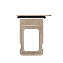 Iphone XS Max Dual SIM Card Tray With Seal - Gold