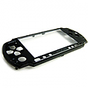 PSP 3000 black front cover
