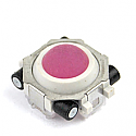blackberry trackball in pink and white