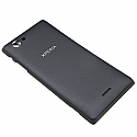 Genuine Sony ST26i Xperia J  Battery Cover in Black- Sony part no:1265-3124
