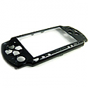 PSP 2000 black front cover