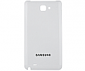 Samsung Galaxy Note White Battery Cover GT-N7000 GT-i9920 - Part no: GH98-1606B