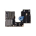 Motorola Moto G (2015), G3 XT1541 Sim and Micro SD Card Reader Flex
