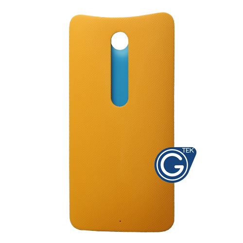 Motorola Moto X Style Battery Cover in Yellow