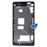 Sony Xperia Z1 Compact, Xperia Z1 Mini, D5503 LCD Frame /  Front Cover in Black