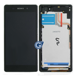 Sony Xperia Z2 Complete lcd and digitizer with frame in black