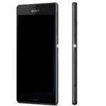 Genuine Sony Xperia Z3 (D6603) Complete lcd with touchpad and frame and Front Assy in Black - Sony part number:1290-6073