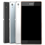 Genuine Sony Xperia Z3 Plus, Xperia Z4, Sony E6553 Complete lcd and Touchpad with Frame in Aqua Green - Part number 1295-6310